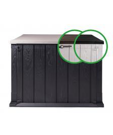 ONDIS24 Gartenbox Mülltonnenbox Storer Plus