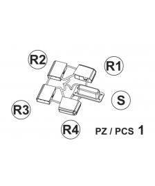 ONDIS24 Teil S+R1-4 (Seitenkappen Deckel)