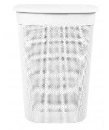 ONDIS24 Wäschekorb Wäschebox Filo 55 L weiß