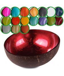 ONDIS24 Kokosnuss Schale Schüssel natur farbig