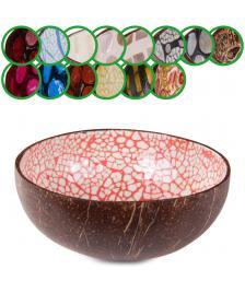 ONDIS24 Kokosnuss Schale Schüssel natur Struktur