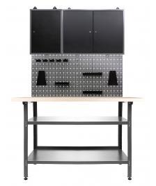 ONDIS24 Werkstatt Set Nobbi 120 cm 2 Schränke
