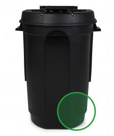 ONDIS24 Mülltonne Gartentonne Räder