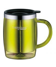 ONDIS24 ThermoCafé by, Bürotasse Desktop Mug, Kunststoff limette,0.3