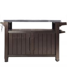 ONDIS24 Grilltisch Unity Table xl braun