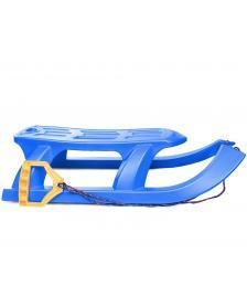 ONDIS24 Kinderschlitten Rennrodel Bob Arrow mit Metallkufen blau