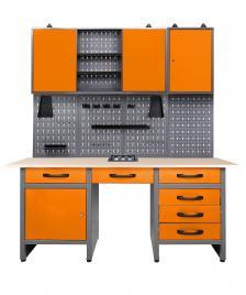 ONDIS24 Werkstatt Set Jerry mit Werkbank & Schrank - Limited Edition