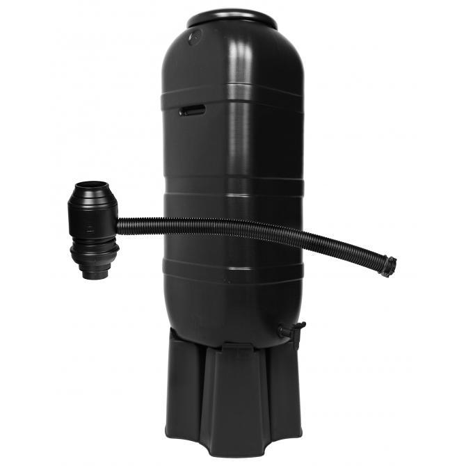 ONDIS24 Regentonne 100 Liter mit Ständer und  Füllautomat grün