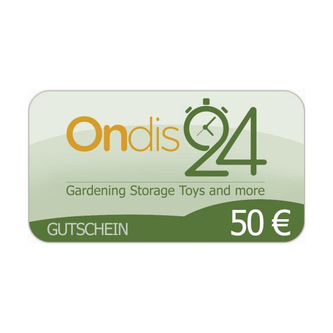 Gutschein - Ondis24 50 EUR
