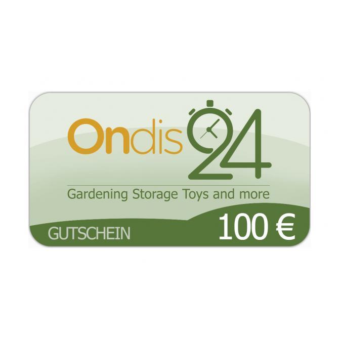 Gutschein - Ondis24 100 EUR