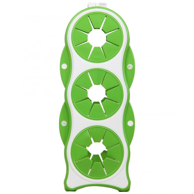 ONDIS24 Flaschengestell Brindo grün