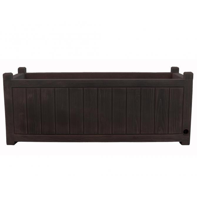 ondis24 blumenkasten charme 100 braun g nstig online kaufen. Black Bedroom Furniture Sets. Home Design Ideas