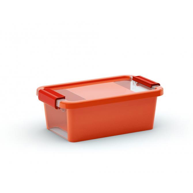 ONDIS24 Aufbewahrungsbox Klipp Box XS orange