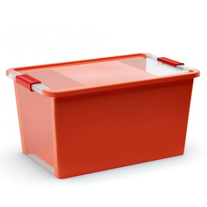 ONDIS24 Aufbewahrungsbox Klipp Box L orange