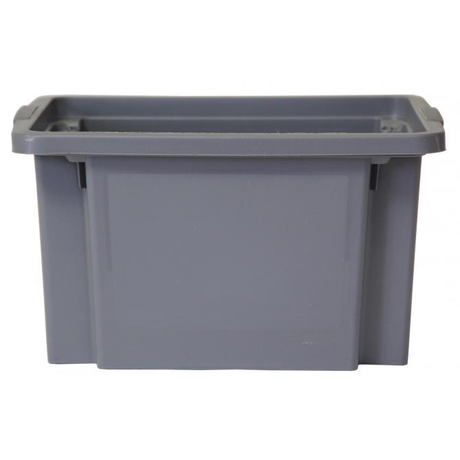 ONDIS24 Dreh- und Stapelbox H grau