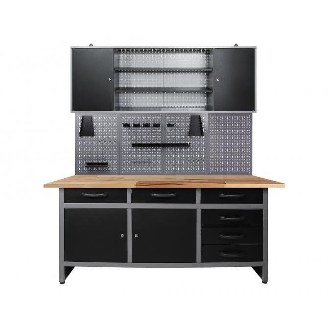 werkbank mit schrank sz69 kyushucon. Black Bedroom Furniture Sets. Home Design Ideas