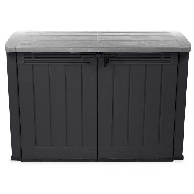 ONDIS24 Keter Mülltonnenbox Geräteschuppen Garten Ultra