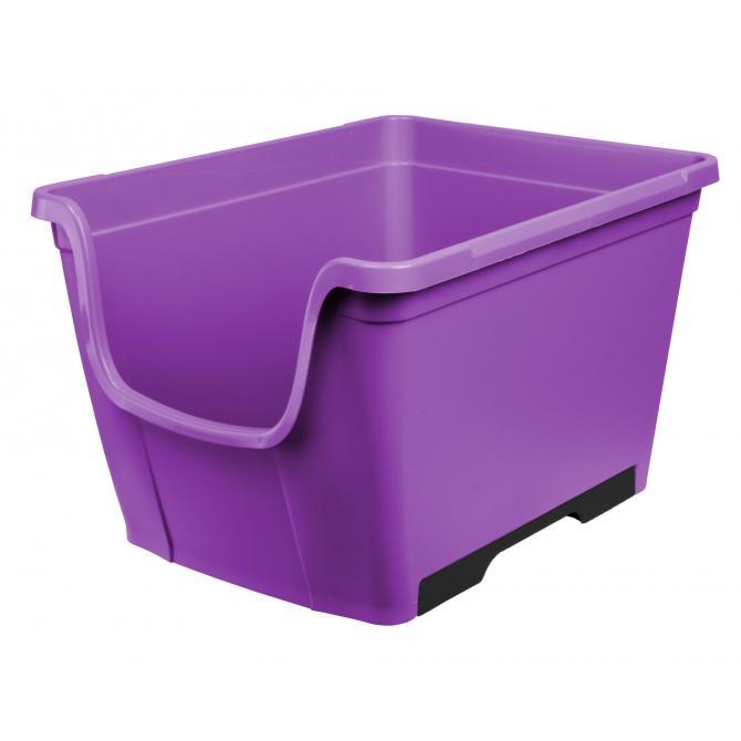 ONDIS24 Schubladenbox Wow Freedom lila