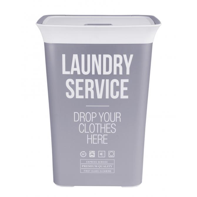 ONDIS24 Wäschekorb Wäschebox Moda Service 60 L