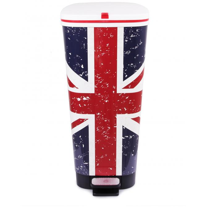 ONDIS24 Mülleimer Chic 45L UK Flagge