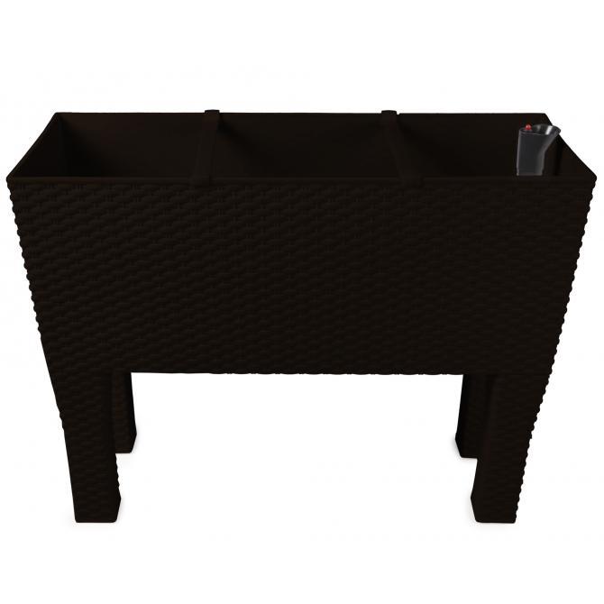 ondis24 pflanzk bel hochbeet mit bew sserungssystem braun. Black Bedroom Furniture Sets. Home Design Ideas