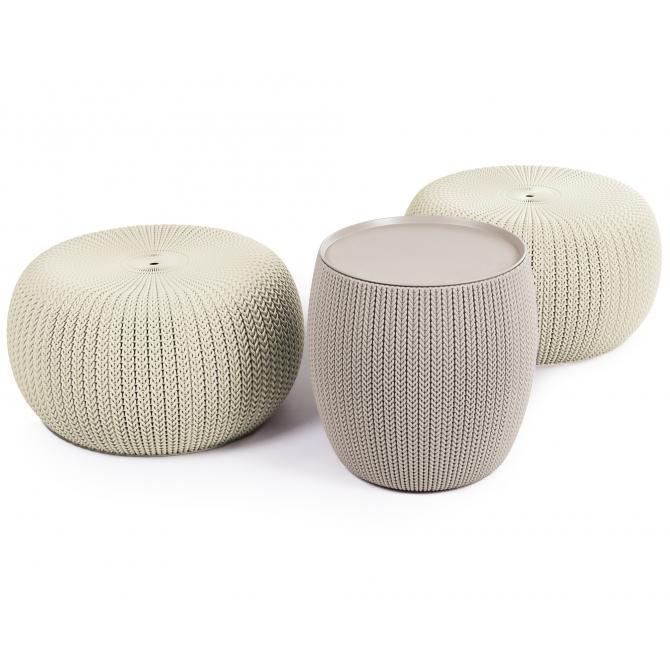 Ondis24 Keter Cozy Urban Loungemöbel 3-teilig günstig online kaufen