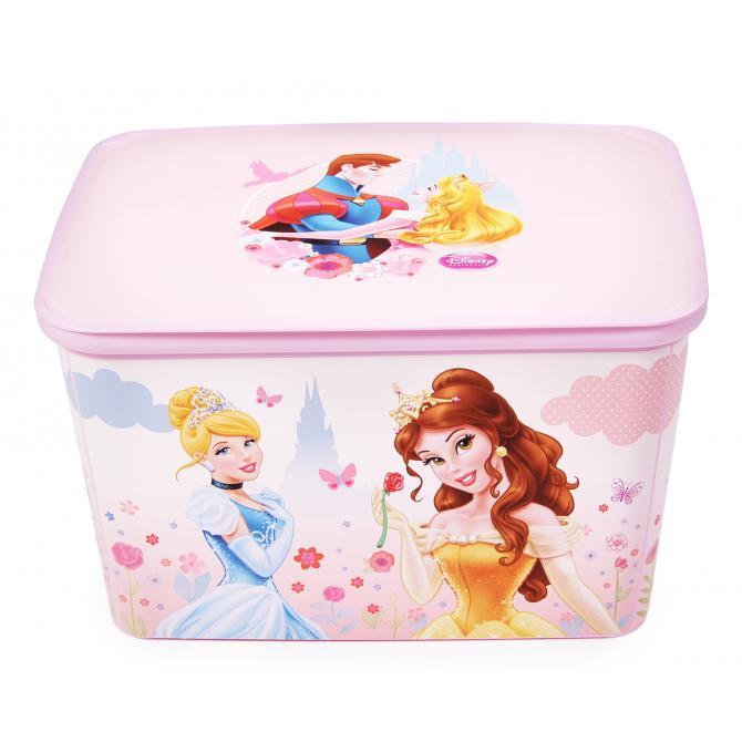 ONDIS24 Curver Box Spielzeugkiste Disney Prinzessinnen
