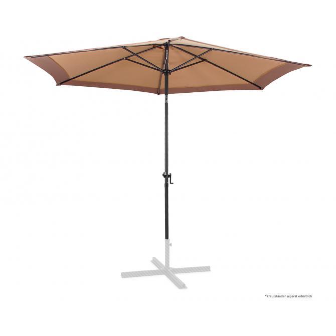 ONDIS24 Sonnenschirme 300 cm Marktschirm mit Kurbel
