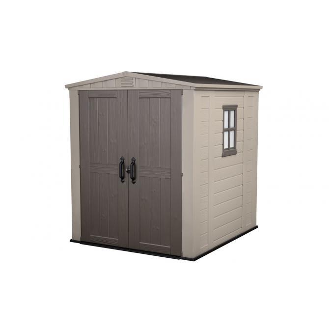 ondis24 keter factor 6x6 gartenhaus garten ger teschuppen. Black Bedroom Furniture Sets. Home Design Ideas