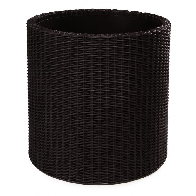 ondis24 rattan pflanzk bel zylinder l g nstig online kaufen. Black Bedroom Furniture Sets. Home Design Ideas