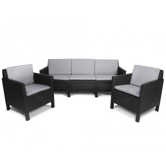 ONDIS24 Chicago Lounge Set 5 Sitze mit Sofa
