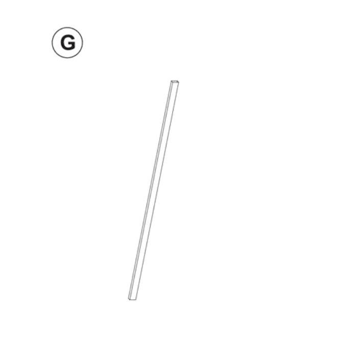 Teil G (Metallstange)