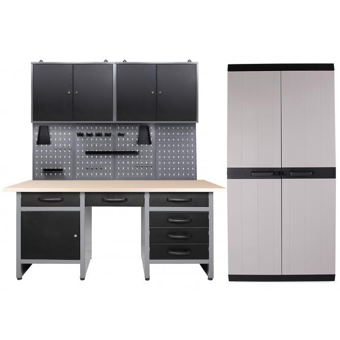 ONDIS24 Werkstatt Harry 2 Schränke + MEGA XL Schrank