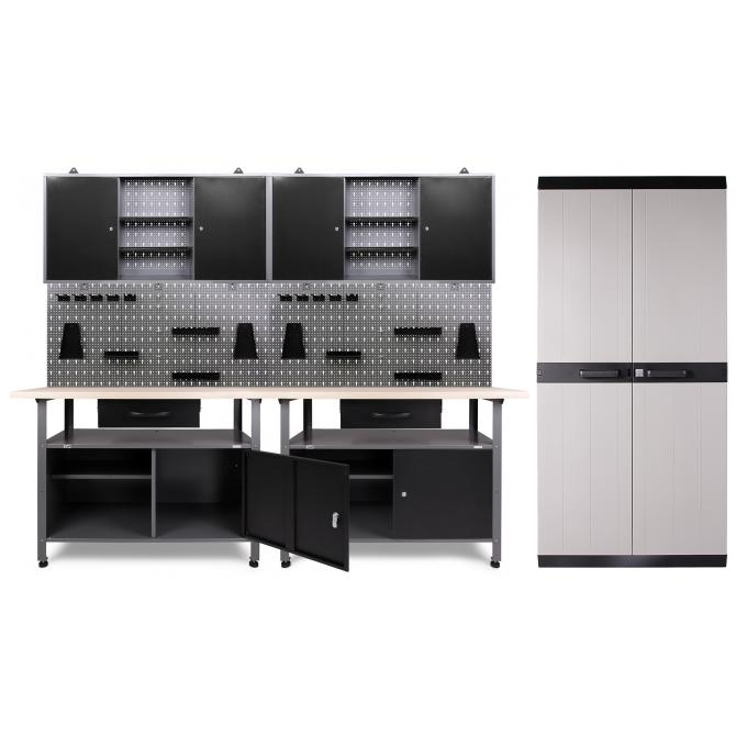 ONDIS24 Werkstatt Klaus 2 Schränke + Comfort XL Schrank