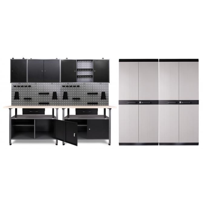 ONDIS24 Werkstatt Klaus 3 Schränke + 2 Comfort XL Schränke