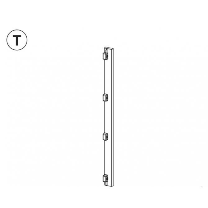 Teil T (Verbindungselement Türteile)