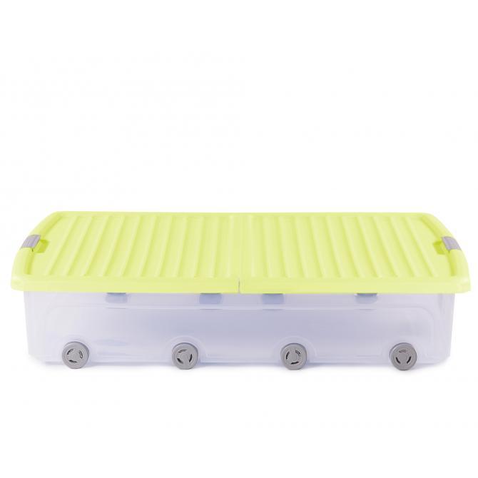 ONDIS24 Unterbettbox Rollerbox 55 W gelb