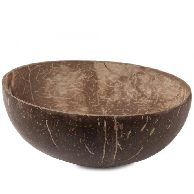 ONDIS24 Kokosnuss Schale Schüssel natur