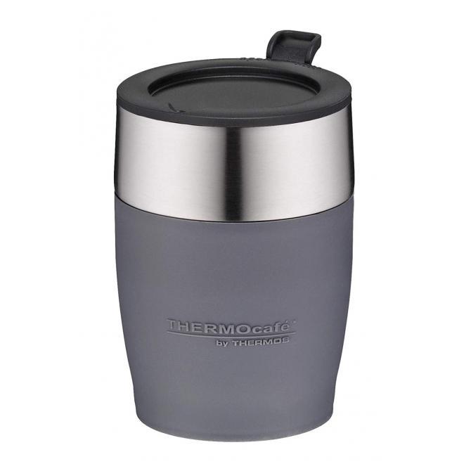 ThermoCafé by, Thermostasse, Edelstahl, grau 0,25 l