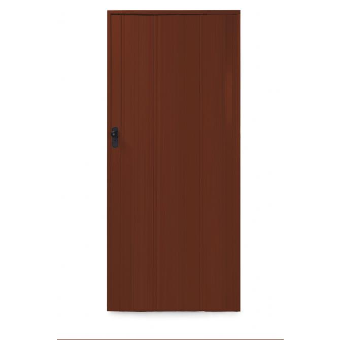 ONDIS24 Falttür Ayto 84 x 215 cm dunkelbraun, kürzbar