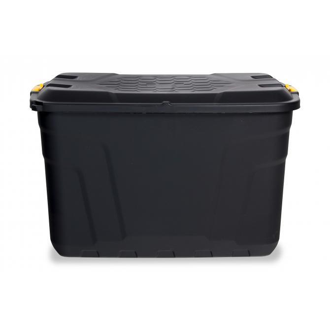 Staubox mit Rädern und Deckel 190 Liter