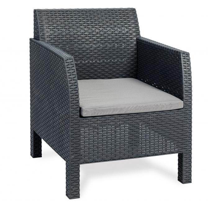 ONDIS24 Loungesessel Matilde mit Sitzkissen