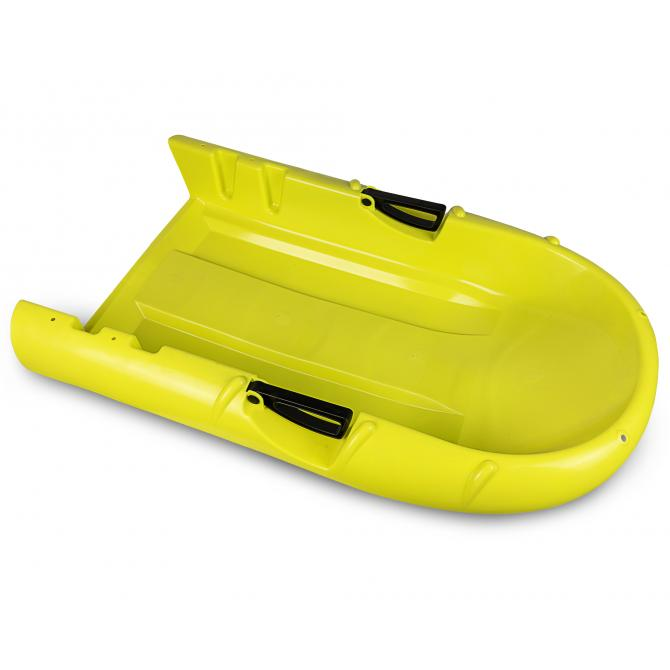ONDIS24 Schlitten Bob Nevastar2-Sitze gelb
