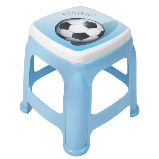 ONDIS24 Kinder-Hocker Sitzhocker Badhocker blau
