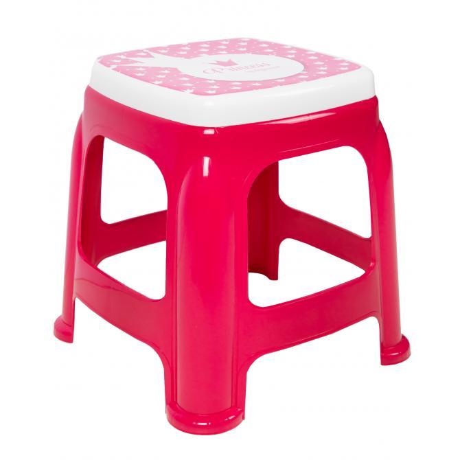 ONDIS24 Kinder-Hocker Sitzhocker Badhocker rot