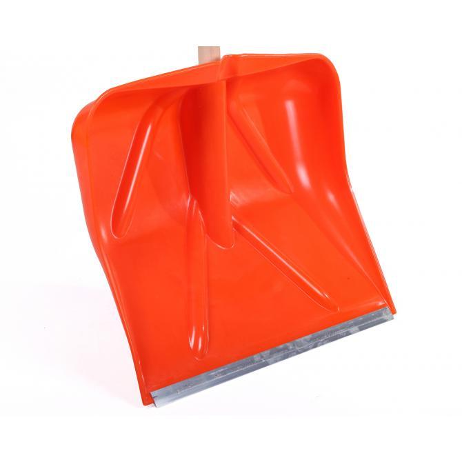 ONDIS24 Schneeschieber Schneeschaufel Alpin orange