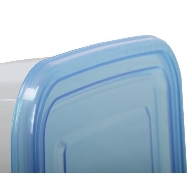 ONDIS24 Frischhaltedosen-Set 1-2-3 Liter blau