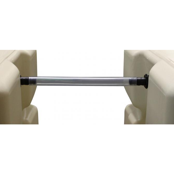 ONDIS24 Regentonnen - Verbinder - Set 20 cm