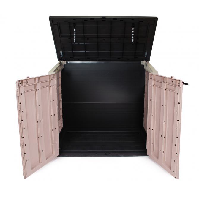 ondis24 keter ger teschuppen m lltonnenbox gartenbox max g nstig online kaufen. Black Bedroom Furniture Sets. Home Design Ideas