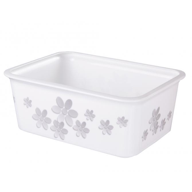 ONDIS24 Aufbewahrungsbox Moda S Flowers Stapelkiste
